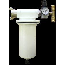 Пневмофильтрующее устройство с угольным и фильтроэлементом