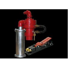 Клапан пневматический дистанционного управления BLASTCOR-X (с клавишей  управления)