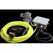 Клапан пневматический REMCON-X  для абразивоструйных аппаратов с электрическим управлением.